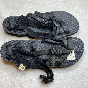 ALP Adjustable Sandals in Black - Unisex
